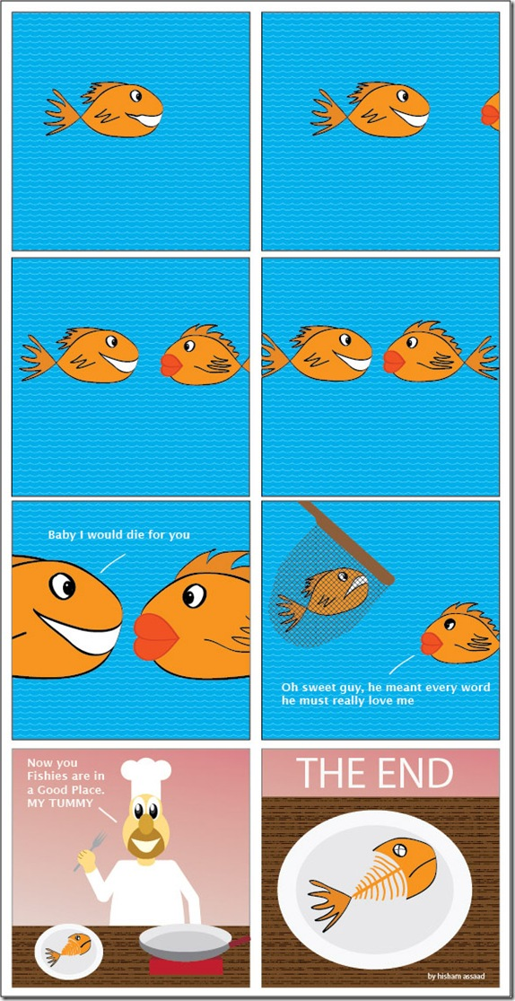 fishy comic
