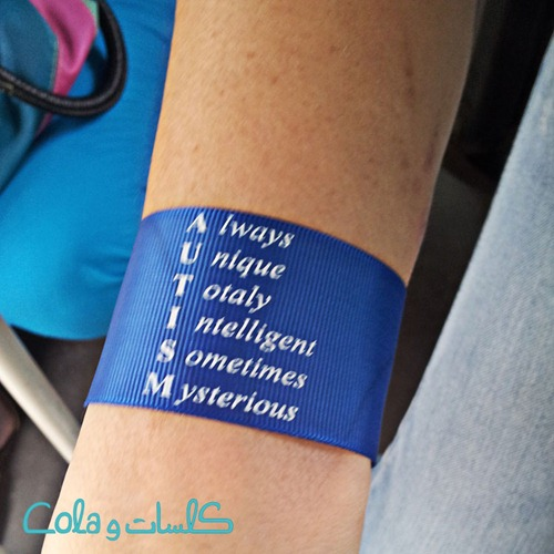 autism wrist band