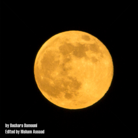 Super moon 23 July 2013